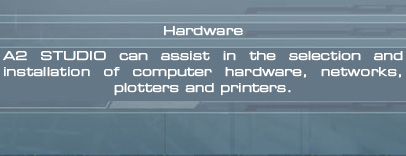 A2 Studio hardware, systems, networks, plotters, printers