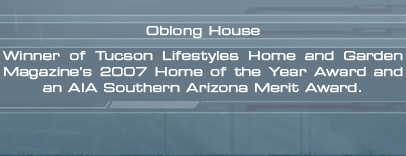A2 Studio Oblong House in Tucson, Arizona