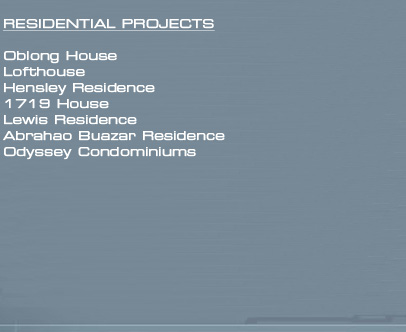 Residential Project List